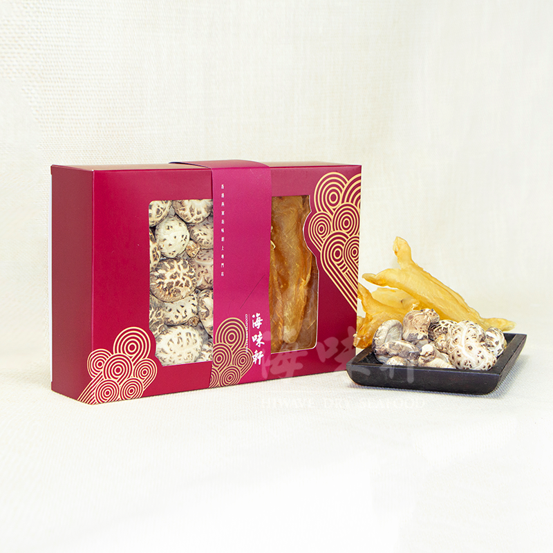 厚膠筒花菇禮盒